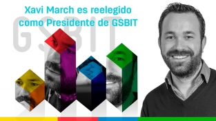 Xavi March es reelegido Presidente de GSBIT